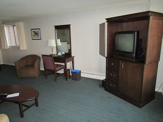 Harbour Towers Hotel & Suites: living room #1015