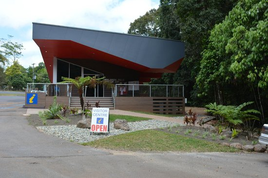 The entrance of the Malanda Falls Visitor Centre