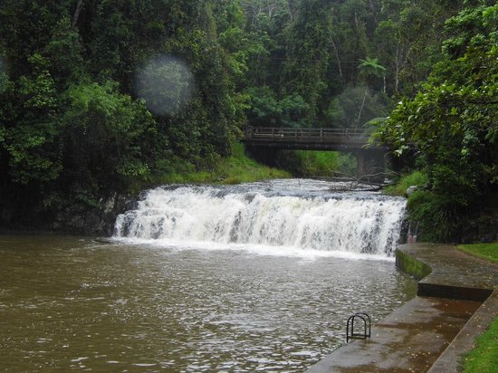 Malanda Falls Swimming Pool