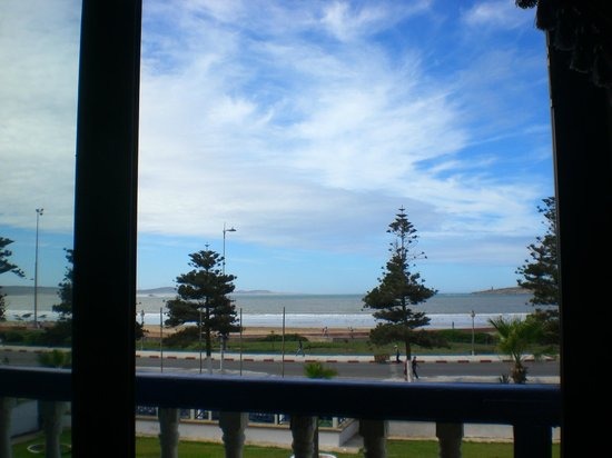 Hotel des Iles: vista mare