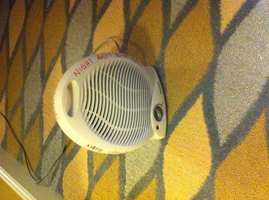 Omni Orlando Resort at Championsgate: If you want heat at Omni Orlando!