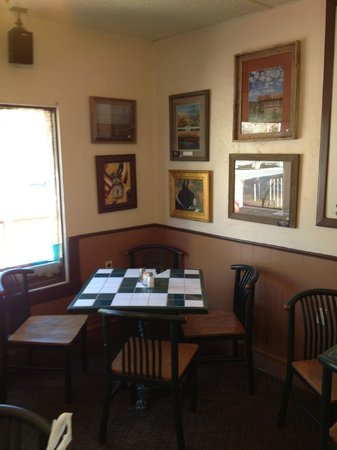 Village Buttery : Cafe interior...very cozy and inviting.