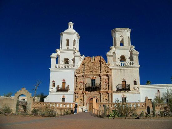 San Xavier Mission - Picture of Mission San Xavier del Bac ...