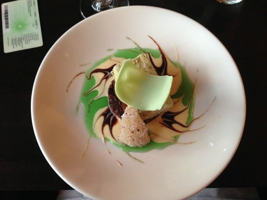 The Strong Room: Licorice dessert - not to be missed!