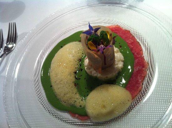 Restaurant Landgasthof Weissenbach: Dry Age Beef- Feldsalat- Curry