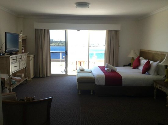Ibis Styles River Lodge Harrington : Massive rooms (there is much more space behind where the photo was taken)