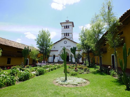 Cajamarca, Perú: The chruch