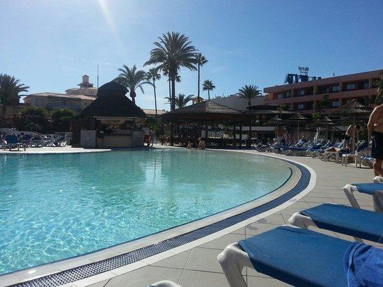 La Siesta Hotel: Pool view sunbed