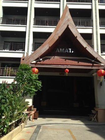 Amata Resort : вход в отель