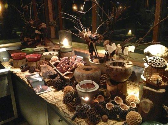Soneva Kiri: Chocolate room