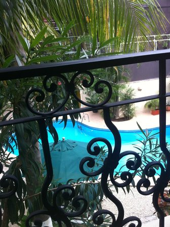 Hacienda Paradise Boutique Hotel by Xperience Hotels: View of pool from balcony