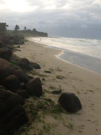 Paraiso Beach Hotel: slecht weer op BCI