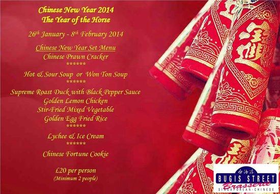 bugis street brasserie chinese new year set menu - Chinese New Year Menu
