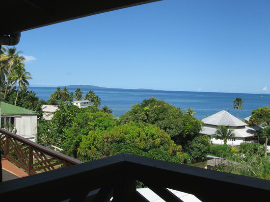 Levuka Homestay: Great views from the top deck