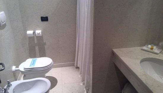 Hotel Trieste: 浴室はシャワーのみ
