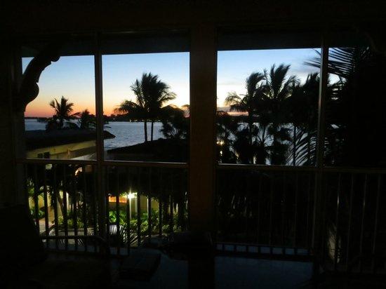 Tortuga Beach Resort: View from the lanai