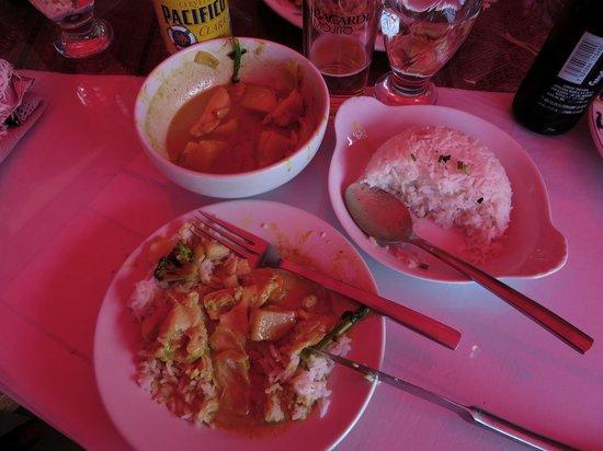 Simply Thai: Las porciones.