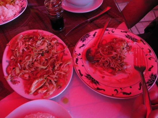 Simply Thai: Fideo thai.