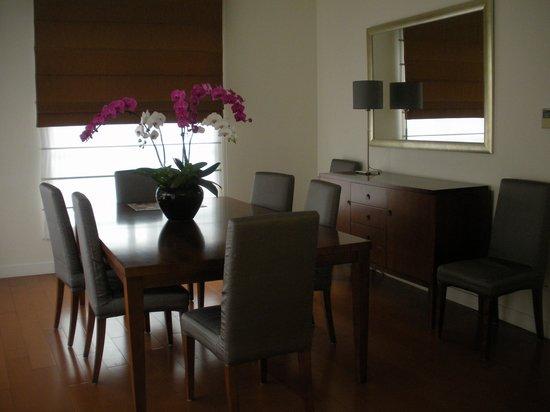 Shama Century Park Serviced Apartment: dining room