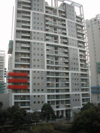 Shama Century Park Serviced Apartment: exterior of building