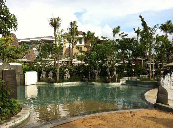 sofitel bali nusa dua beach resort swimming pool picture of sofitel bali nusa dua beach. Black Bedroom Furniture Sets. Home Design Ideas