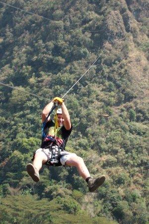 Zipline Cola de Mono: Go Zipline !!!!