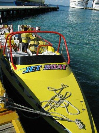 Isla Pasion: Awesome boat