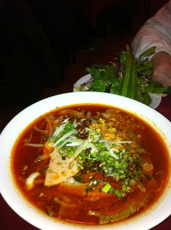 Way to spicy soup - Picture of Ox Head Restaurant, Ottawa