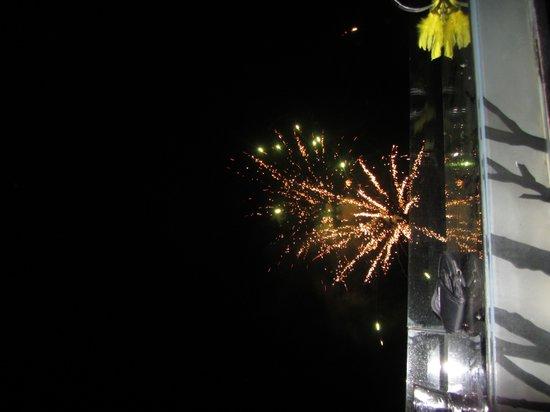 InterContinental Samui Baan Taling Ngam Resort: Great fireworks