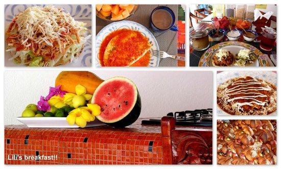 Quinta Lili: Lili's breakfast