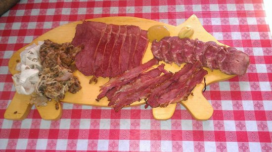 The Real Deli: Variety of Smoked Meats including Lean Tongue
