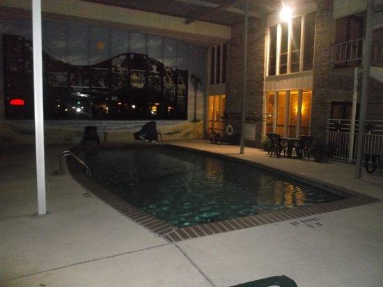 Plantation Inn: Espace piscine au 19 janvier 2014.