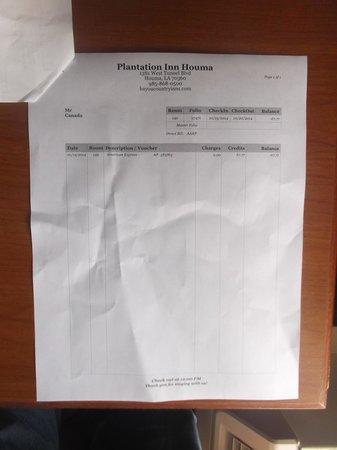 Plantation Inn: $67.77 avec taxe incluse au 20 janvier 2014