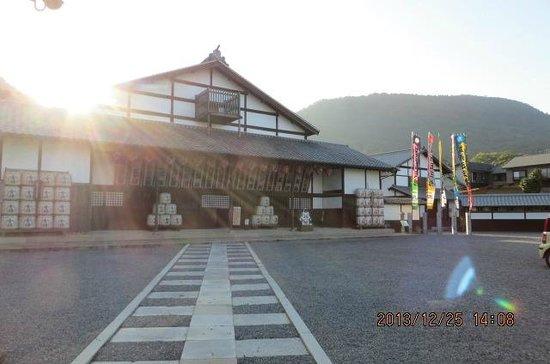 Former Konpira Old Theater Kanamaruza: outside