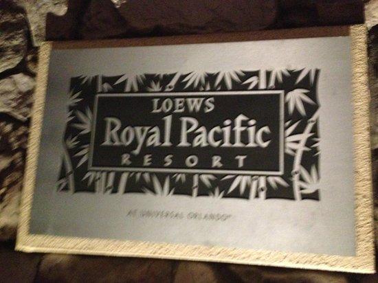 Loews Royal Pacific Resort at Universal Orlando : Welcome to Paradise!