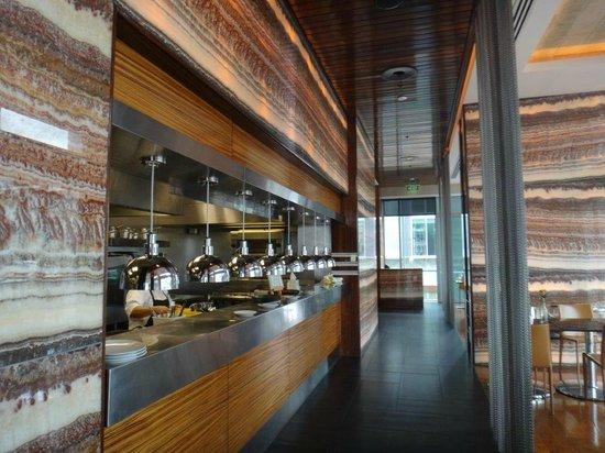 Sofitel Auckland Viaduct Harbour: le restaurant