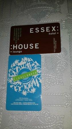 Essex House: Mapas otorgados por el hotel