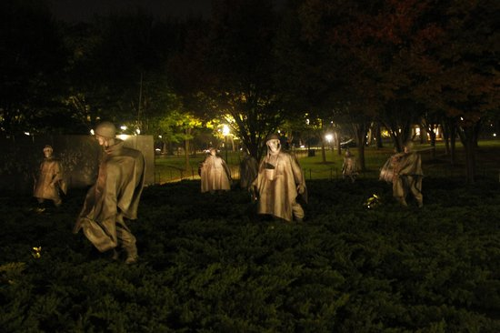Korean War Veterans Memorial: Korean War Veterans