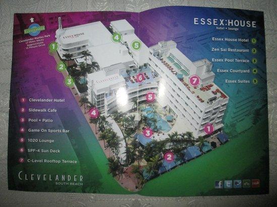 Essex House: Mapa de las instalaciones