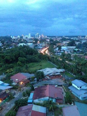 Citadines Uplands Kuching: vue de la chambre 801