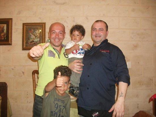 La Carboncita Paladar : grande ciccio un saluto da Enzo,Ale,e Riky.ci vediamo.