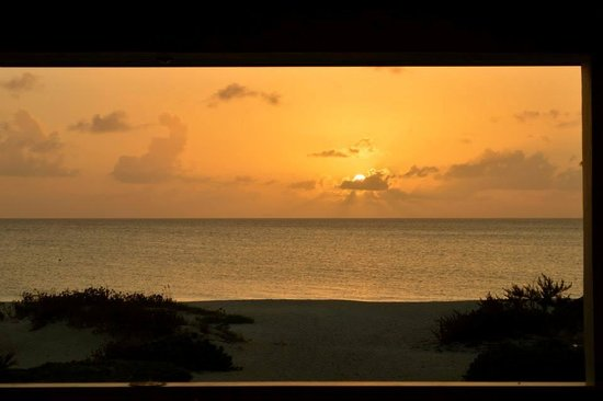 The Meridian Club Turks & Caicos : Beautiful views every night at dinner