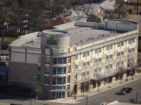 Holiday Inn Express Hotel & Suites San Antonio Rivercenter Area: Holiday from the Tower