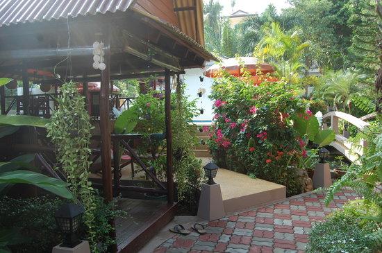 Baan Sukreep - Zen Garden Cottages : jardin tropical