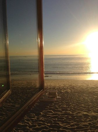 Surf & Sand Resort: View from hotel bar at sunset