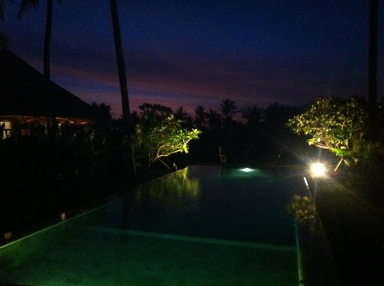 Lodtunduh Sari: sunset shot from the restaurant