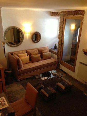 Casa das Merceeiras: Living room