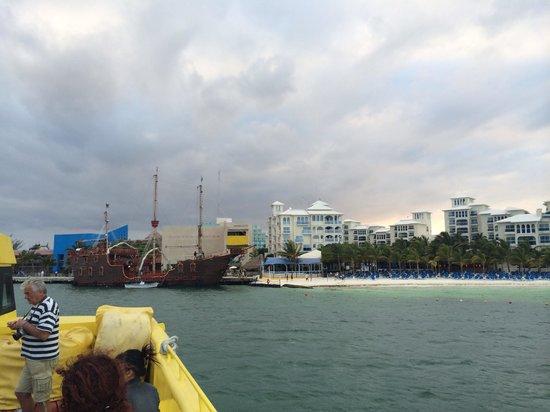 Ultramar : Vista desde el Ferry