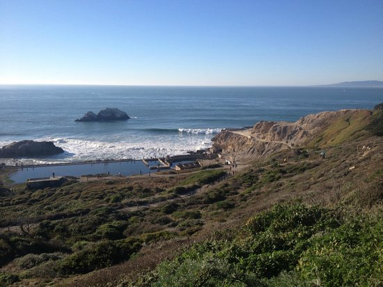 Lands End: I could have watched the waves for hours.
