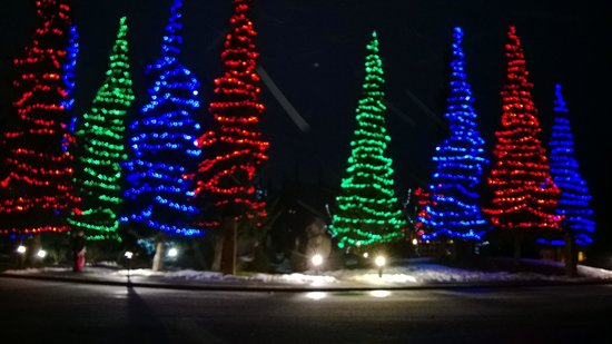 Fairmont Chateau Whistler Resort: Holiday Lights